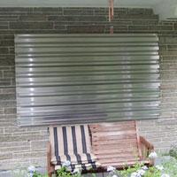 aluminum storm pannel