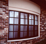 aluminum bay window